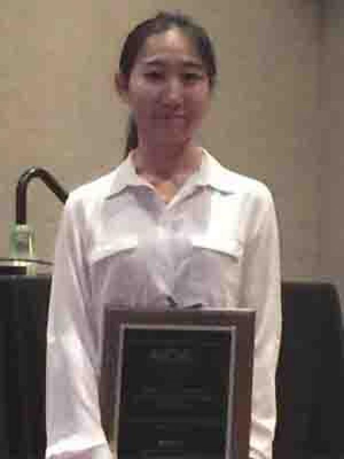 NJIT doctoral student Meng Li is awarded AIChE student award
