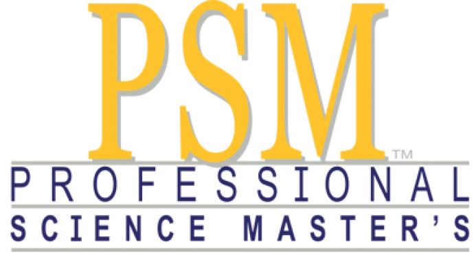 Logo of the Professional Science Master's program affiliation